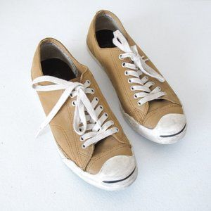 Men's Leather Converse x Jack Purcell Sneakers Tan